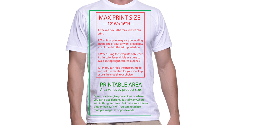 T-Shirt Mockups from PrintAura