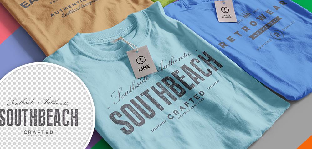 Infinity Color Shirt Mockup