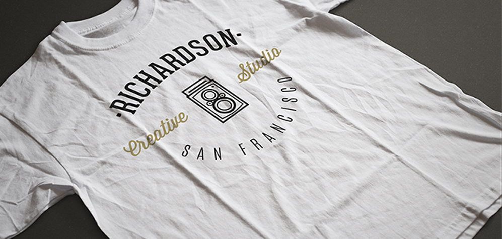 2 Photorealistic T-Shirt Mock-ups