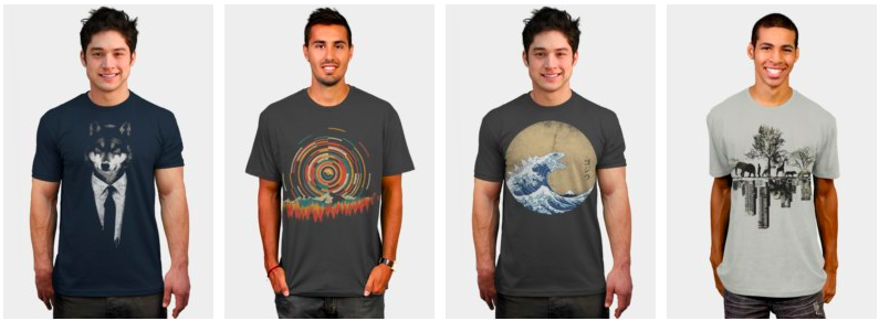 T Shirt Design Templates by DesignByHumans