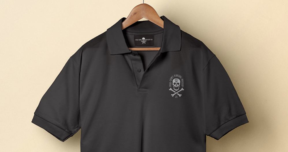 Polo Mockup Shirt Design