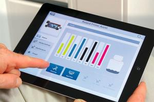 Roland DG Launch Printer Assist iPad App