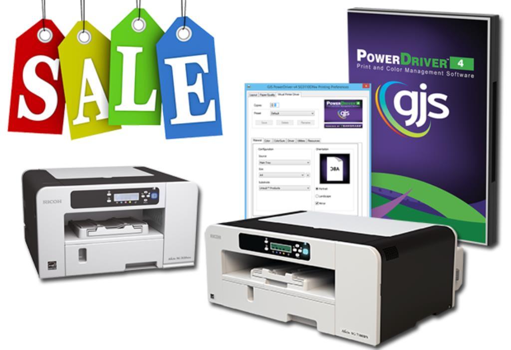 Clearance Sale: Desktop Dye Sublimation Printers