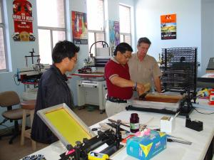 Screen Printing Class Launch!