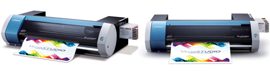 New Roland VersaSTUDIO BN-20 Metallic Desktop Eco-Solvent Printer/Cutter