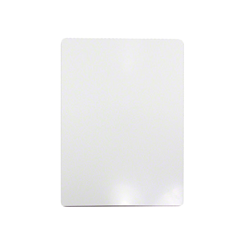 ChromaLuxe EXT Outdoor Metal Panels - White Gloss - 5″ x 7″