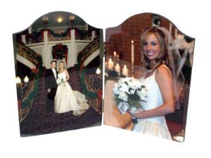 ChromaLuxe Photo Panels - Hinged Arch Tops