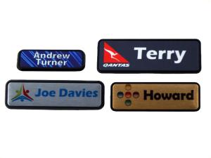 Name Badge Plastic Holders
