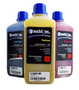 SubliM Wide Format Dye Sublimation Bulk Ink - Cyan