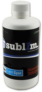 SubliM Wide Format Dye Sublimation Bulk Ink - Light Cyan