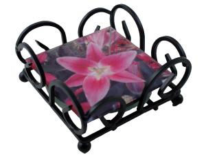 Coaster Racks - Wrought Iron