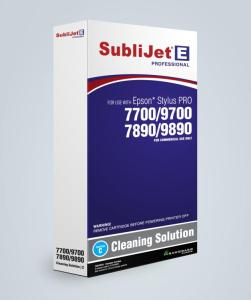 SubliJet-E Cleaning Cartridges for Epson 7700/9700/7890/9890