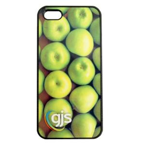 iPhone 5 Phone Cover/Case - Rubber Bumper w/ Printable Metal