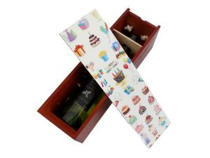 Wooden Wine Bottle Boxes