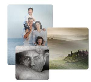 ChromaLuxe Metal Photo Panels - Clear Gloss