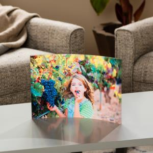 SolaPix Curved Acrylic Prints