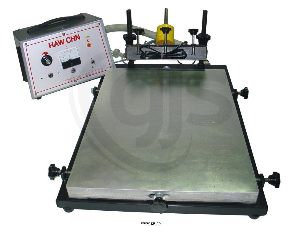 Bench Top Printing Table Inc Vacuum For Screen Printing