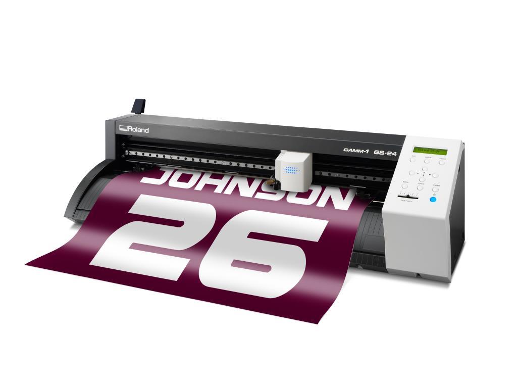 Roland Gs 24 Camm 1 Servo Desktop Vinyl Cutter Plotter